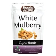Foods Alive - Raw White Mulberry - 8 oz.