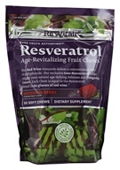 ResVitale - Resveratrol Age-Revitalizing Fruit Chews Bordeaux Berry - 30 Soft Chews