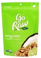 Go Raw - Organic Raw Coconut Crisps Tangy Lime - 2 oz.