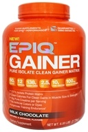 EPIQ - Gainer Pure Isolate Clean Gainer Matrix Milk Chocolate - 6 lbs.