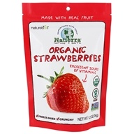 Nature's All Foods - Organic Freeze-Dried Strawberry - 1.2 oz.