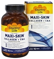 Country Life - Tri-Layer Maxi-SKin Collagen + C&A - 90 Tablets
