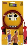 GoFit - Pro Cable Jump Rope - 9 ft.
