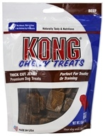 Kong - Chewy Thick Cut Jerky Treats Beef - 6.5 oz.