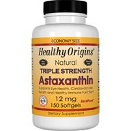 Healthy Origins - Natural Triple Strength Astaxanthin 12 mg. - 150 Softgels