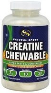 Natural Sport - Creatine Chewable Orange Tangerine - 60 Chewables
