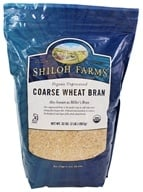 Shiloh Farms - Organic Unprocessed Coarse Wheat Bran - 32 oz.