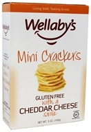 Wellaby's - Gluten Free Mini Crackers Cheddar Cheese - 5 oz.