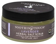 Soothing Touch - Organic Herbal Salt Scrub Calming Lavender - 10 oz. LUCKY PRICE