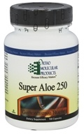 Ortho Molecular Products - Super Aloe 250 - 100 Capsules