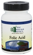 Ortho Molecular Products - Folic Acid - 120 Capsules