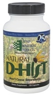 Ortho Molecular Products - Natural D-Hist - 120 Capsules