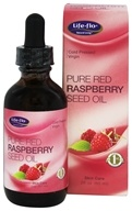 Life-Flo - Pure Red Raspberry Seed Oil Cold Pressed Virgin - 2 oz.
