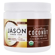 Jason Natural Products - Organic Smoothing Coconut Oil - 15 oz.