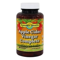 Dynamic Health - Apple Cider Vinegar Complete with Apple Pectin - 90 Vegetarian Capsules