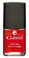Gabriel Cosmetics Inc. - Nail Color Holiday Red - 0.5 oz.