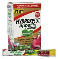 Muscletech Products - Hydroxycut Appetite Control Non-Stimulant with Appethyl Mixed Berry Smoothie - 14 Packet(s)