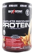 Six Star Pro Nutrition - Elite Series Recovery Protein Decadent Chocolate - 2 lbs.