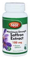 Natural Max - Saffron Extract 100 mg. - 30 Vegetarian Capsules