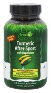 Irwin Naturals - Turmeric After-Sport with Magnesium - 60 Softgels