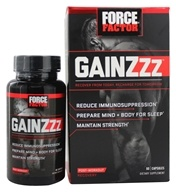 Force Factor - GainZzz Post-Workout Recovery - 60 Capsules