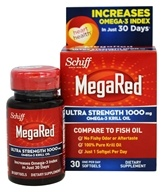 Schiff - MegaRed Ultra Strength Omega-3 Krill Oil 1000 mg. - 30 Softgels