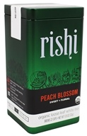 Rishi Tea - Peach Blossom Organic Loose Leaf White Tea - 1.13 oz.