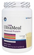 Metagenics - UltraMeal Advanced Protein French Vanilla Flavor - 22.71 oz.