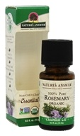 Nature's Answer - Organic  Essential Oil 100% Pure Rosemary - 0.5 oz.