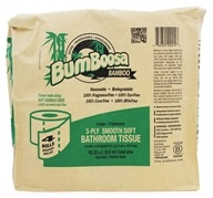 Bumboosa - Bamboo Bathroom Tissue 3-ply Fragrance Free - 4 Roll(s)