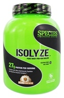 Species Nutrition - Isolyze Pure Whey Protein Isolate Vanilla Peanut Butter - 3.1 lbs.