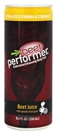 Beet Performer - Beet Juice with Passion Fruit Juice - 8.4 oz.