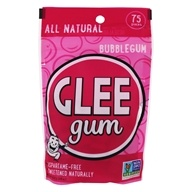 Glee Gum - All Natural Chewing Gum Bubble Gum - 75 Piece(s)