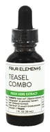 Four Elements Herbals - Fresh Herb Extract Tincture Teasel Combo - 1 oz.