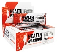 Health Warrior - Chia Protein Bar Peanut Butter Cacao - 12 Bars