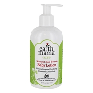 Earth Mama Angel Baby - Natural Non-Scents Baby Lotion - 8 oz.