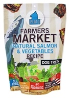 Plato Pet Treats - Farmer's Market Dog Treats Salmon & Vegetables - 14.11 oz.