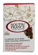 South of France - French Milled Vegetable Bar Soap Climbing Wild Rose - 1.5 oz.