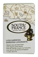 South of France - French Milled Vegetable Bar Soap Lush Gardenia - 1.5 oz.