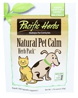 Pacific Herbs - Natural Pet Calm Herb Pack - 1.76 oz.