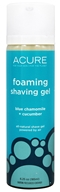 ACURE - Foaming Shaving Gel Blue Chamomile and Cucumber - 6.25 oz.
