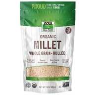 NOW Foods - Organic Whole Grain Hulled Millet - 16 oz.