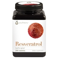 Youtheory - Resveratrol Anti-Aging Benefits - 290 Tablets