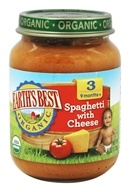 Earth's Best - Organic Baby Food Stage 3 Spaghetti with Cheese - 6 oz.