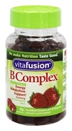 Vitafusion - B Complex Natural Strawberry Flavor - 70 Gummies