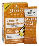 Zarbee's - Cough & Throat Relief Daytime Drink Apple Spice - 6 Packet(s)