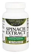 Nature's Vision - Spinach Extract 750 mg. - 100 Capsules