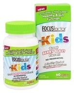 Factor Nutrition Labs - Focus Factor for Kids Berry Blast - 60 Wafers