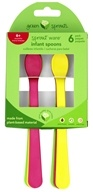 Green Sprouts - Sprout Ware Infant Spoons Pink Assortment - 6 Pack