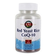 Kal - Red Yeast Rice CoQ-10 - 30 Tablets